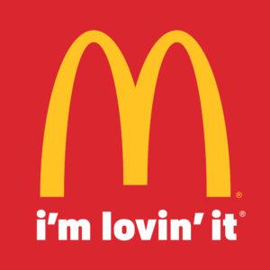 McDonald's logo (red)