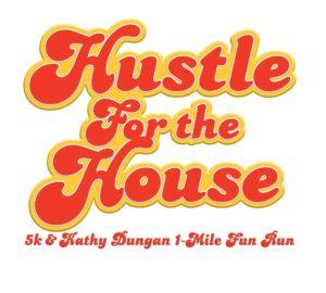 Hustle + Kathy Dungan Logo